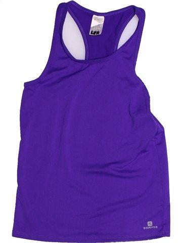 Sportswear fille DOMYOS violet 10 ans été #1255702_1