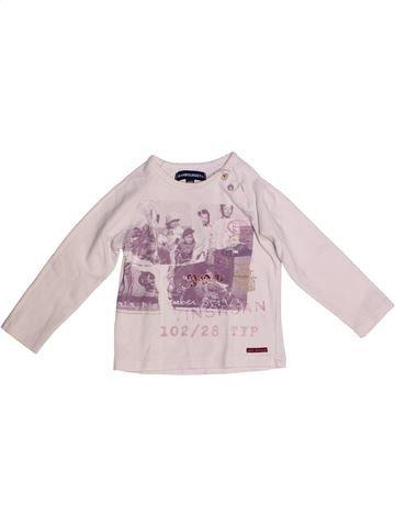 Camiseta de manga larga niña JEAN BOURGET blanco 2 años invierno #1256619_1