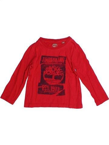 Camiseta de manga larga niño TIMBERLAND rojo 4 años invierno #1256856_1