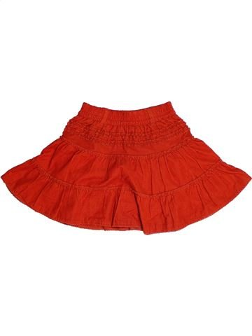 Jupe fille IDEXE rouge 4 ans hiver #1257529_1