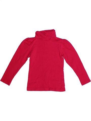 T-shirt col roulé fille ALIVE rouge 6 ans hiver #1257941_1