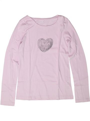 T-shirt manches longues fille CFK blanc 12 ans hiver #1258697_1