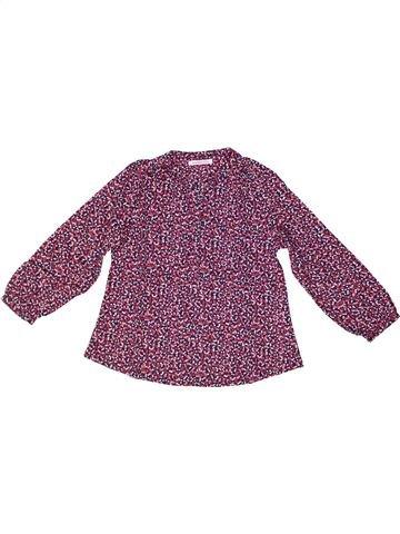 Blouse manches longues fille MONOPRIX violet 5 ans hiver #1259157_1