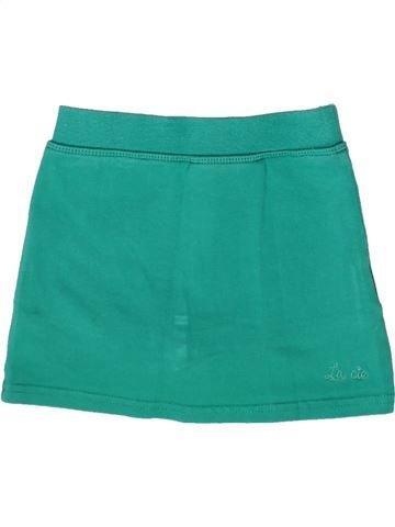 Short-Bermudas niña LA COMPAGNIE DES PETITS verde 2 años verano #1259322_1