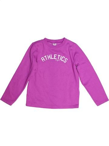 Sweat fille DOMYOS violet 8 ans hiver #1259448_1