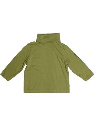 T-shirt col roulé garçon DOPODOPO vert 4 ans hiver #1259453_1