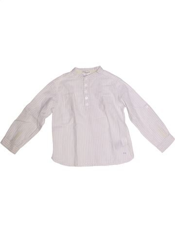 Camisa de manga larga niño CYRILLUS blanco 3 años invierno #1259566_1