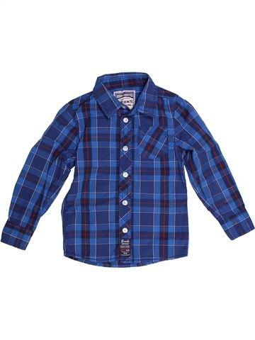 Chemise manches longues garçon CREEKS bleu 3 ans hiver #1260001_1