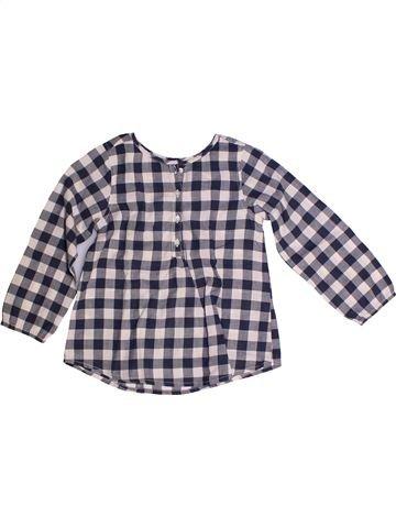 Blusa de manga larga niña CFK gris 5 años invierno #1260732_1
