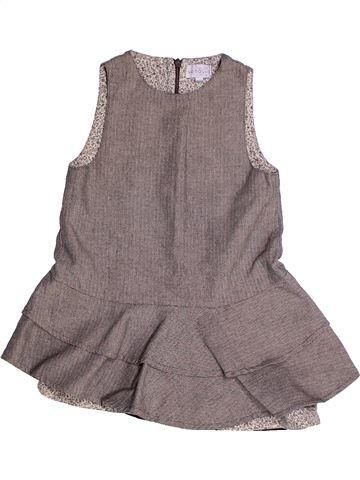 Robe fille NATALYS gris 3 ans été #1260843_1
