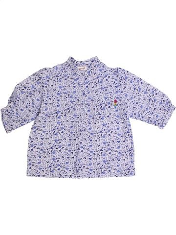 Blusa de manga larga niña BERLINGOT violeta 4 años verano #1260905_1