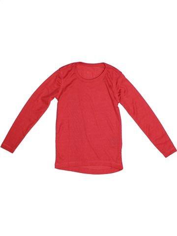 T-shirt manches courtes fille TCHIBO rouge 6 ans été #1261863_1