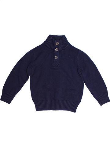 Pull garçon ALIVE bleu 8 ans hiver #1261879_1