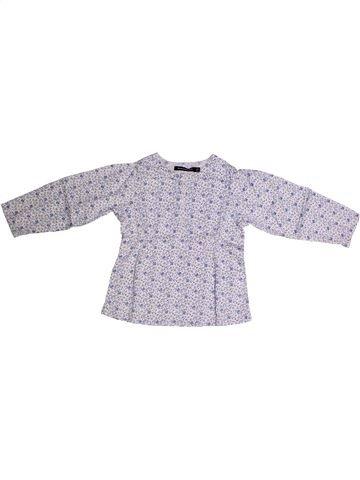 Blusa de manga larga niña TOUT COMPTE FAIT violeta 3 años invierno #1262227_1