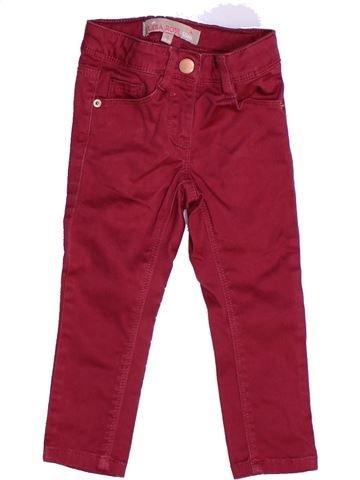 Pantalon fille LISA ROSE violet 2 ans hiver #1262856_1