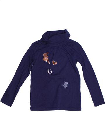 T-shirt col roulé fille TAPE À L'OEIL bleu 5 ans hiver #1262936_1