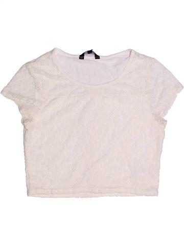 Camiseta de manga corta niña CANDY COUTURE blanco 14 años verano #1263244_1