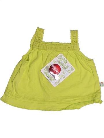 T-shirt sans manches fille BOBOLI vert 3 mois été #1263606_1
