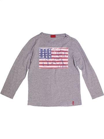T-shirt manches longues garçon LEVI'S violet 10 ans hiver #1264320_1