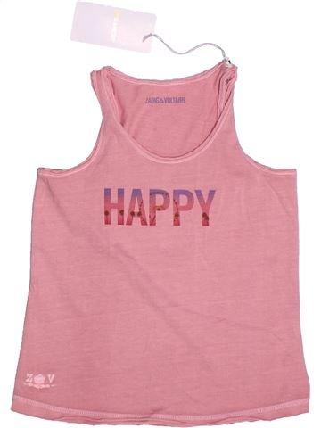 T-shirt sans manches fille ZADIG ET VOLTAIRE rose 6 ans été #1264474_1