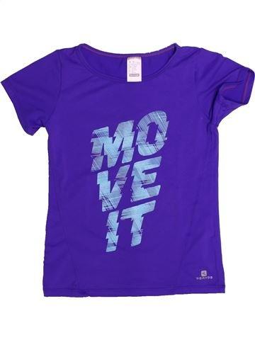 Sportswear fille DOMYOS violet 6 ans été #1264835_1