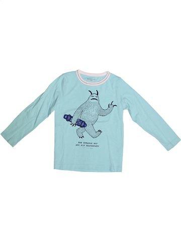 Camiseta de manga larga niño MONOPRIX azul 5 años invierno #1264953_1