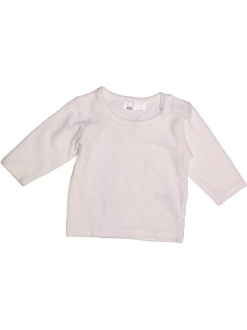 Pull fille ERGEE blanc 6 mois hiver #1265641_1