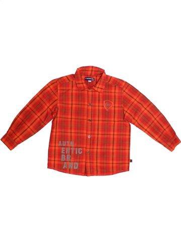 Chemise manches longues garçon JEAN BOURGET rouge 5 ans hiver #1266950_1