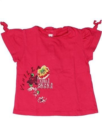 Camiseta de manga corta niña MARÈSE rojo 2 años verano #1267076_1