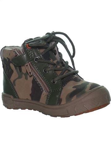 Zapatos con cordones niño VERTBAUDET negro 23 verano #1267151_1