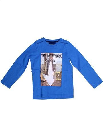T-shirt manches longues garçon YCC-214 bleu 5 ans hiver #1267179_1