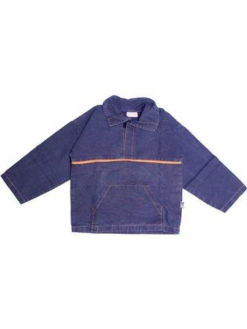 Camisa de manga larga niño SUCRE D'ORGE azul 6 años invierno #1267185_1