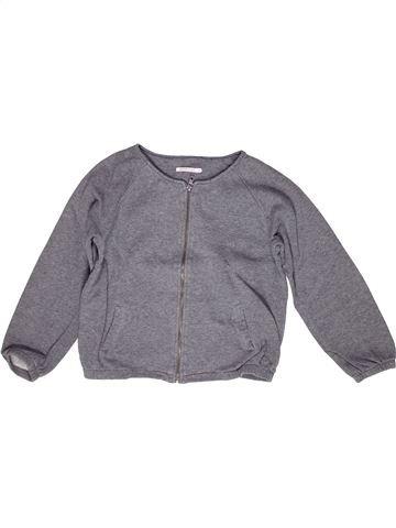 Sweat fille MONOPRIX gris 12 ans hiver #1267897_1