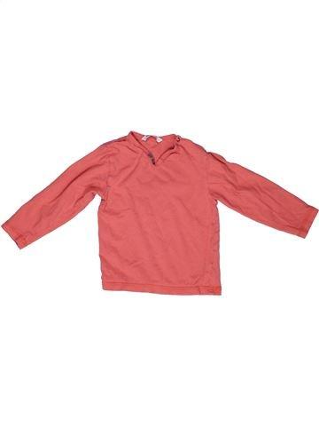 T-shirt manches longues fille 3 POMMES rose 2 ans hiver #1267961_1