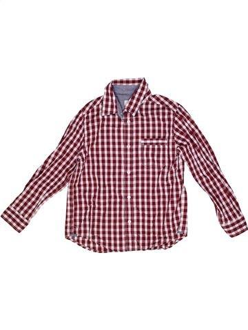Camisa de manga larga niño CYRILLUS violeta 8 años invierno #1267965_1