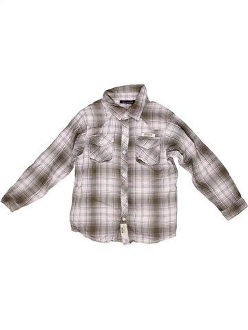 Chemise manches longues garçon TOUT COMPTE FAIT gris 8 ans hiver #1267978_1