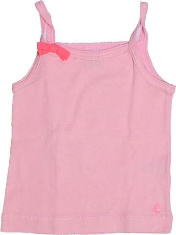 T-shirt sans manches fille PETIT BATEAU rose 3 ans été #1268014_1