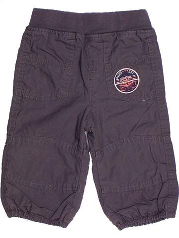 Pantalon garçon TAPE À L'OEIL gris 6 mois hiver #1268198_1