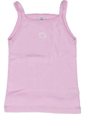 Camiseta sin mangas niña PETIT BATEAU rosa 3 años verano #1268303_1