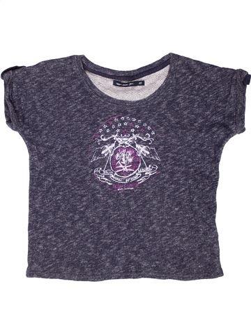 Sweat fille TEDDY SMITH violet 10 ans été #1268354_1