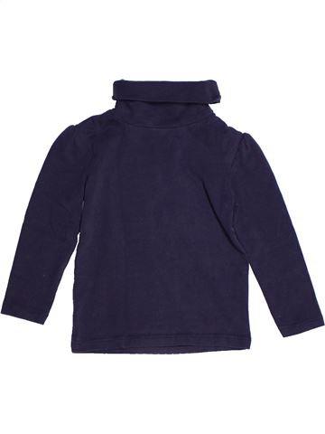 Camiseta de cuello alto niña TAPE À L'OEIL azul 2 años invierno #1268355_1