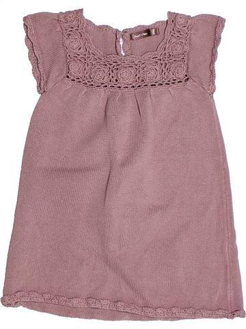 Vestido niña BOUT'CHOU rosa 2 años invierno #1268559_1
