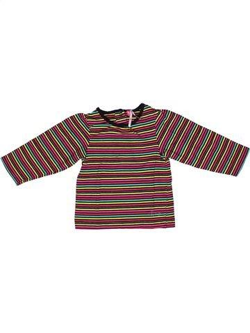 T-shirt manches longues fille ORCHESTRA violet 2 ans hiver #1268573_1