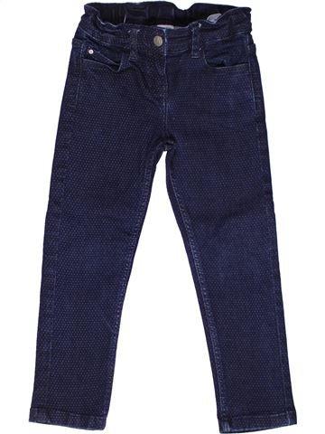 Tejano-Vaquero niña PETIT BATEAU azul 4 años invierno #1268681_1