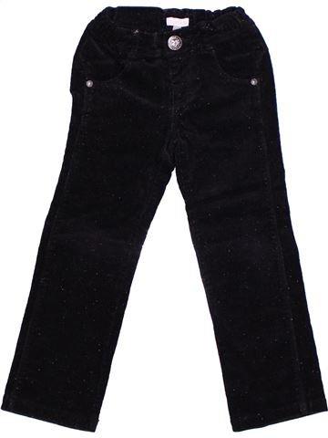 Pantalon fille CONFETTI noir 5 ans hiver #1268684_1