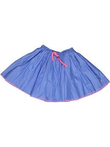 Jupe fille PETIT BATEAU bleu 8 ans été #1268777_1