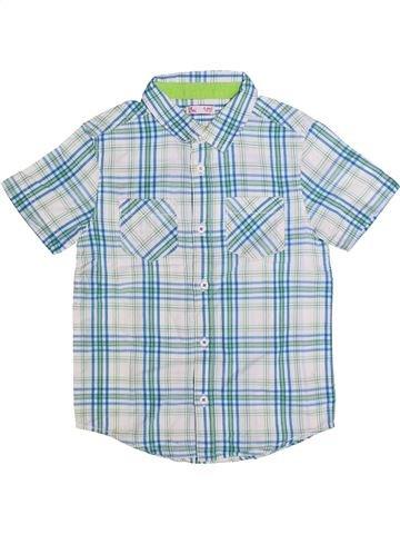 Chemise manches courtes garçon DPAM gris 6 ans été #1268911_1