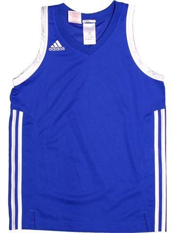 Sportswear garçon ADIDAS bleu 12 ans été #1269007_1