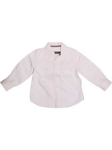 Blouse manches longues fille JEAN BOURGET blanc 2 ans hiver #1269012_1