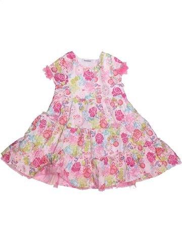 Vestido niña 3 POMMES rosa 2 años verano #1269061_1